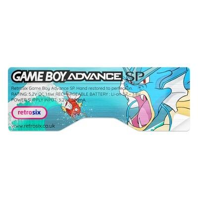 Game Boy Advance SP Sticker (Gyarados)