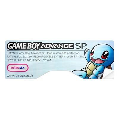 Game Boy Advance SP Sticker (Squirtle)