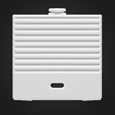 Game Boy Original USB-C Battery Cover (White)