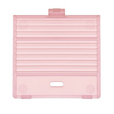 Game Boy Original USB-C Battery Cover (Clear Pink)