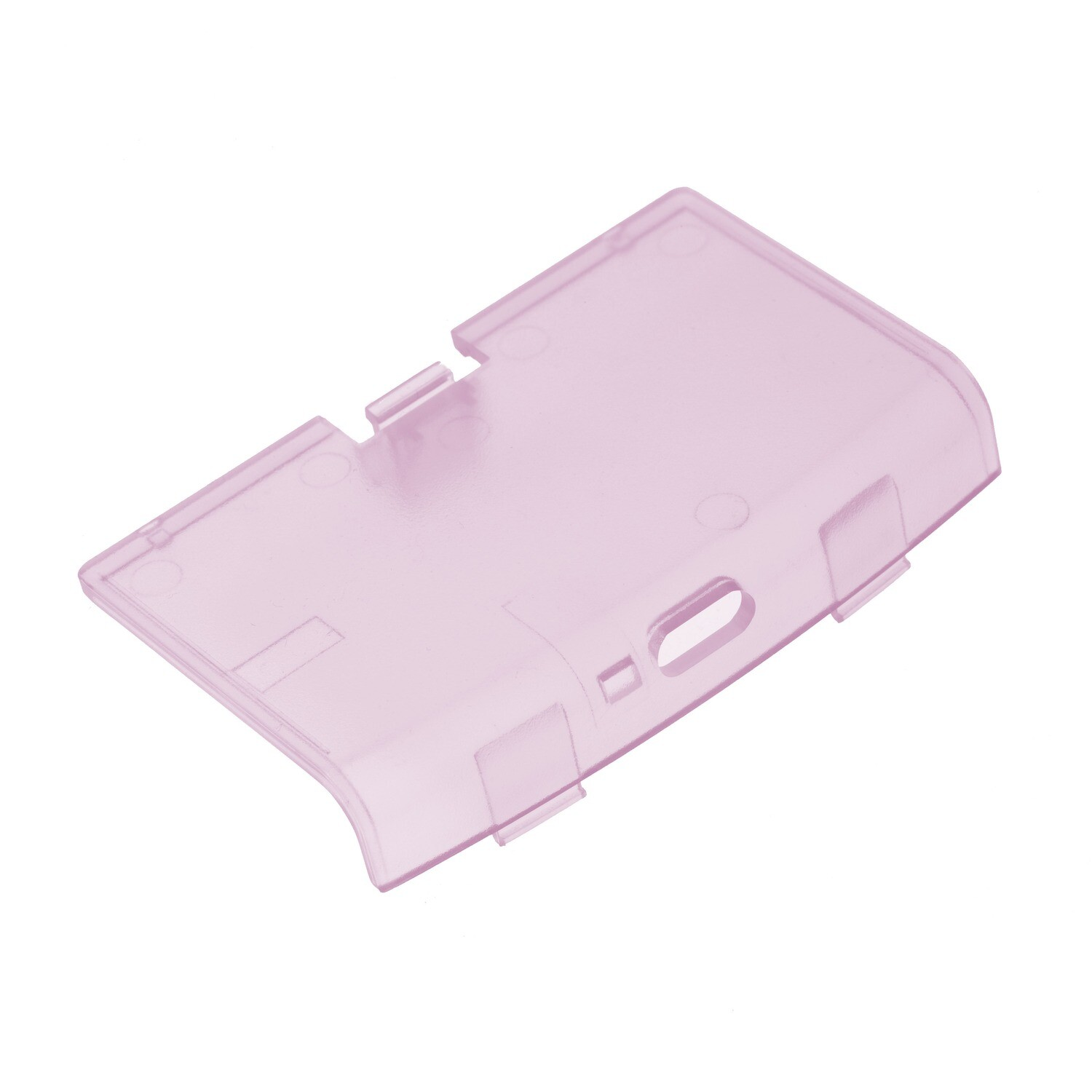 Game Boy Advance USB-C Battery Cover (Clear Pink)