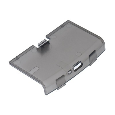 Game Boy Advance USB-C Battery Cover (Clear Black)
