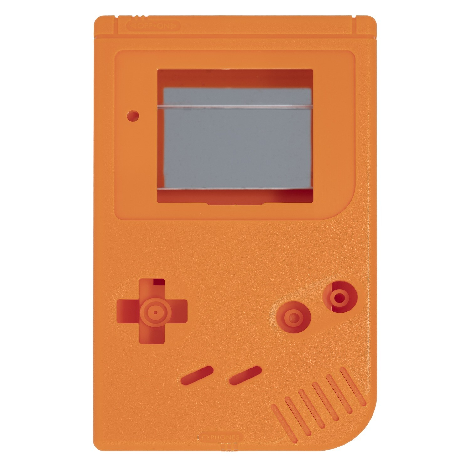 Game Boy Original Shell Kit (Solid Orange)