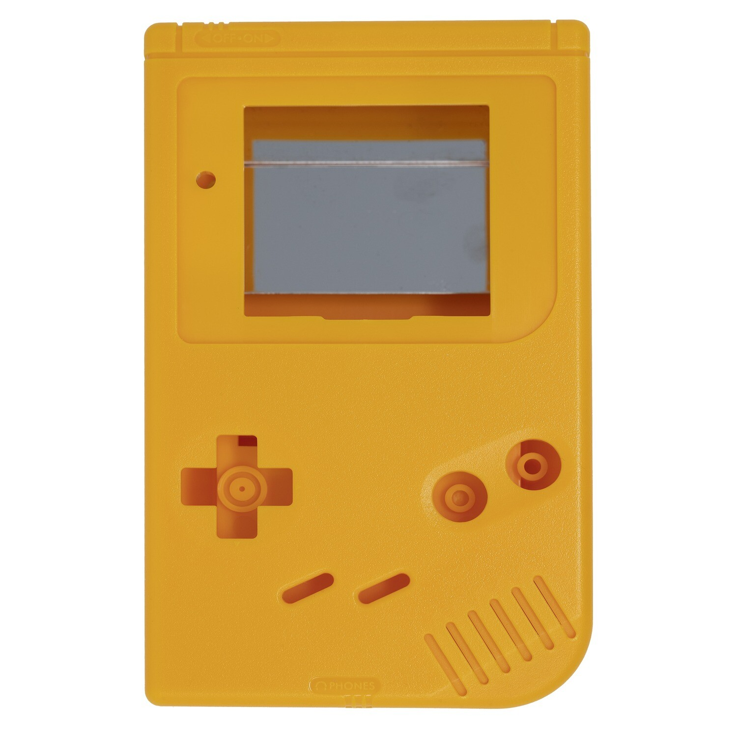 Game Boy Original Shell Kit (Solid Yellow)