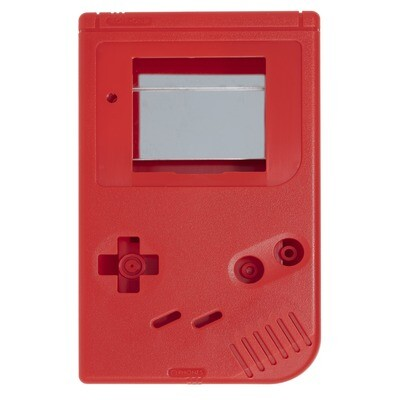 Game Boy Original Shell Kit (Solid Red)
