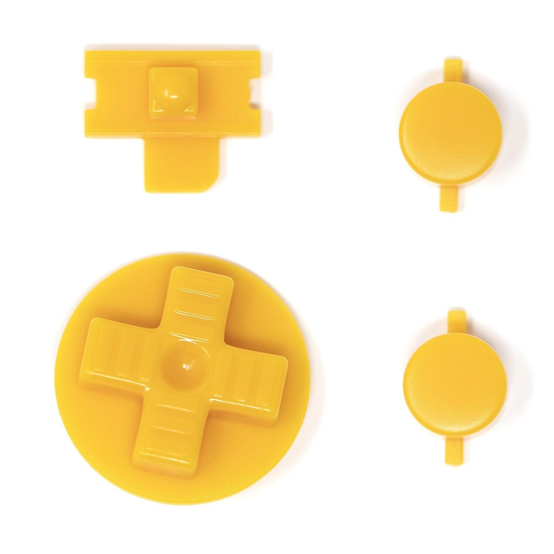 Game Boy Original Buttons (Yellow)