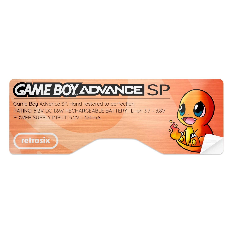 Game Boy Advance SP Sticker (Charmander)
