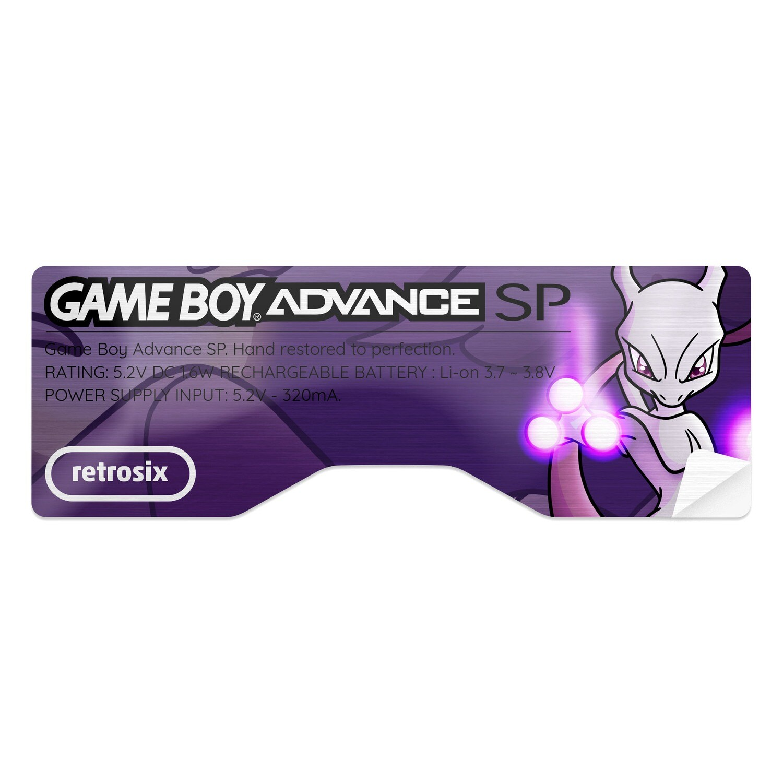 Game Boy Advance SP Sticker (Mewtwo)
