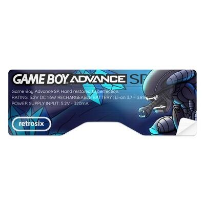 Game Boy Advance SP Sticker (Alien)