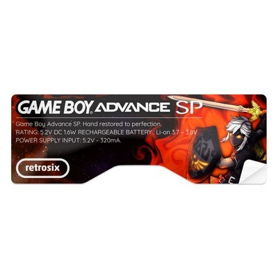 Game Boy Advance SP Sticker (Dark Link)