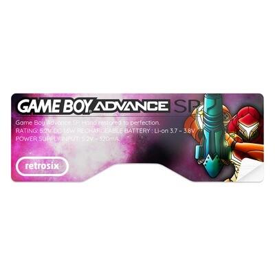 Game Boy Advance SP Sticker (Metroid B)