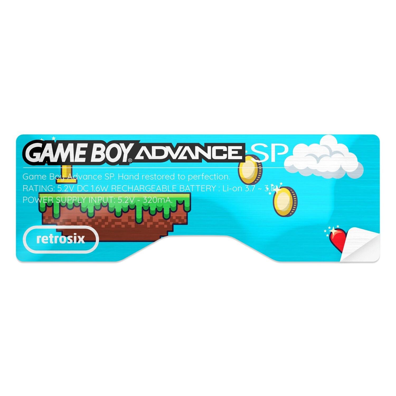 Game Boy Advance SP Sticker (Platformer)