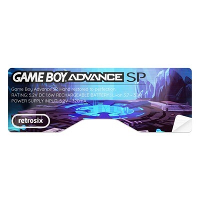 Game Boy Advance SP Sticker (Cave Portal)