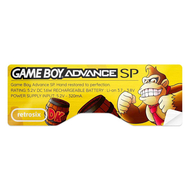 Game Boy Advance SP Sticker (Donkey Kong)