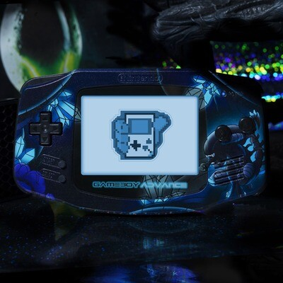 Game Boy Advance: Prestige Edition (UV Alien)