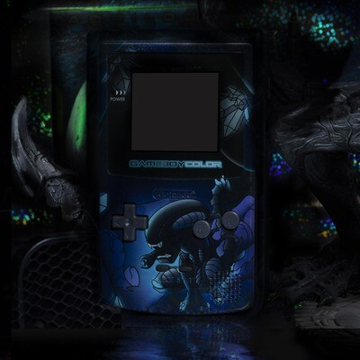 Game Boy Color UV Print Shell Kit (Alien)