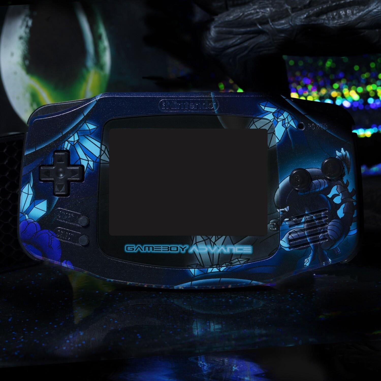 Game Boy Advance UV Print Shell Kit (Alien)