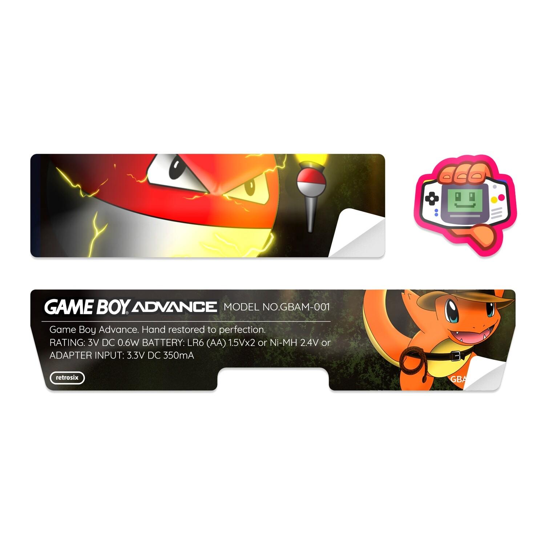 Game Boy Advance Sticker (Indiemander)
