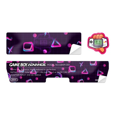 Game Boy Advance Sticker (80's Fresh)