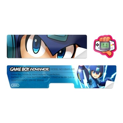 Game Boy Advance Sticker (Megaman)