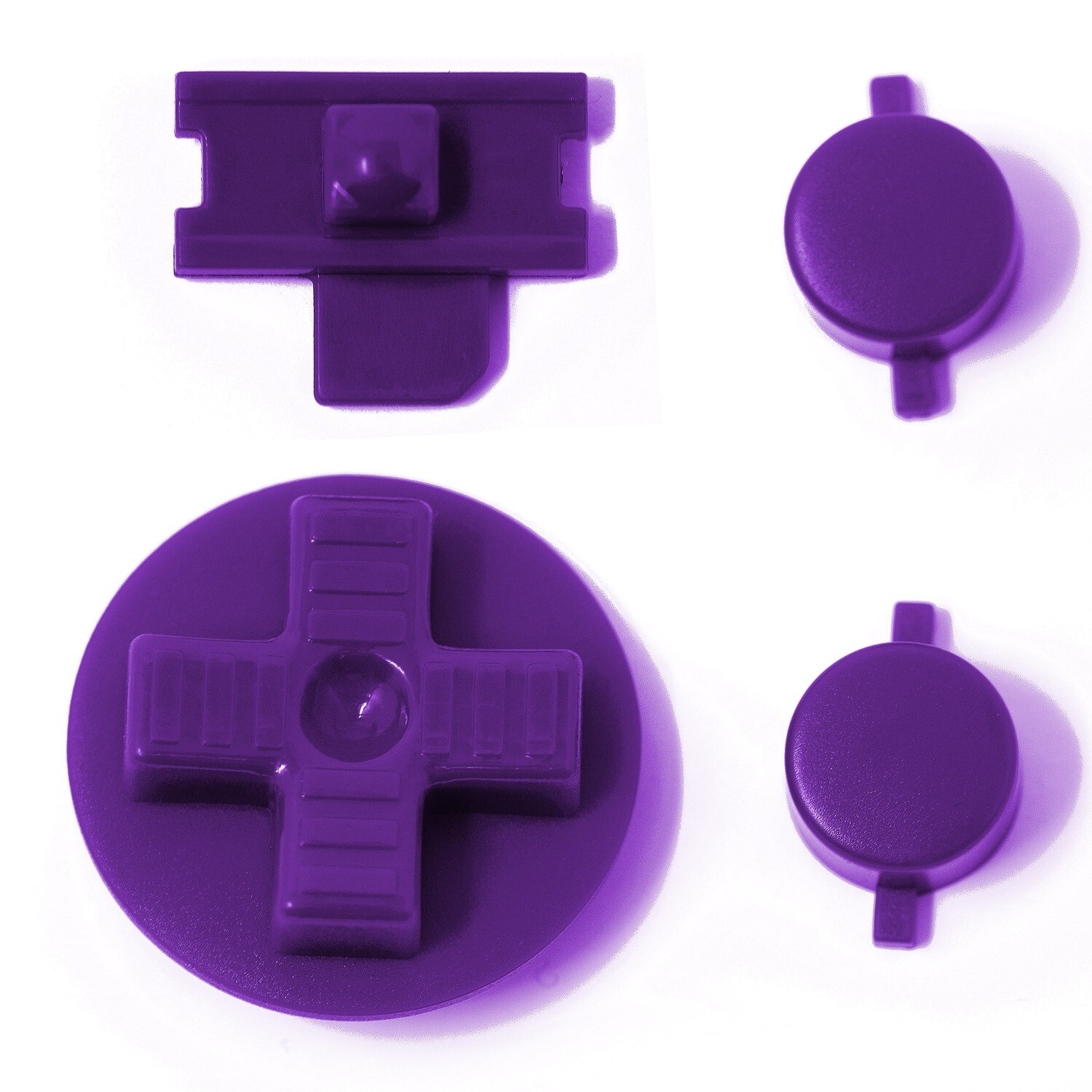 Game Boy Original Buttons (Purple)