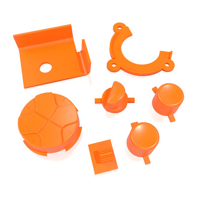 Game Gear Buttons (Orange)