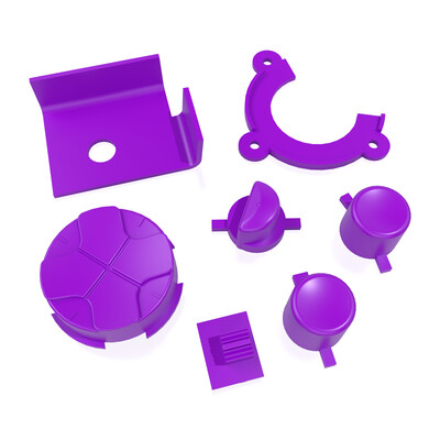 Game Gear Buttons (Purple)