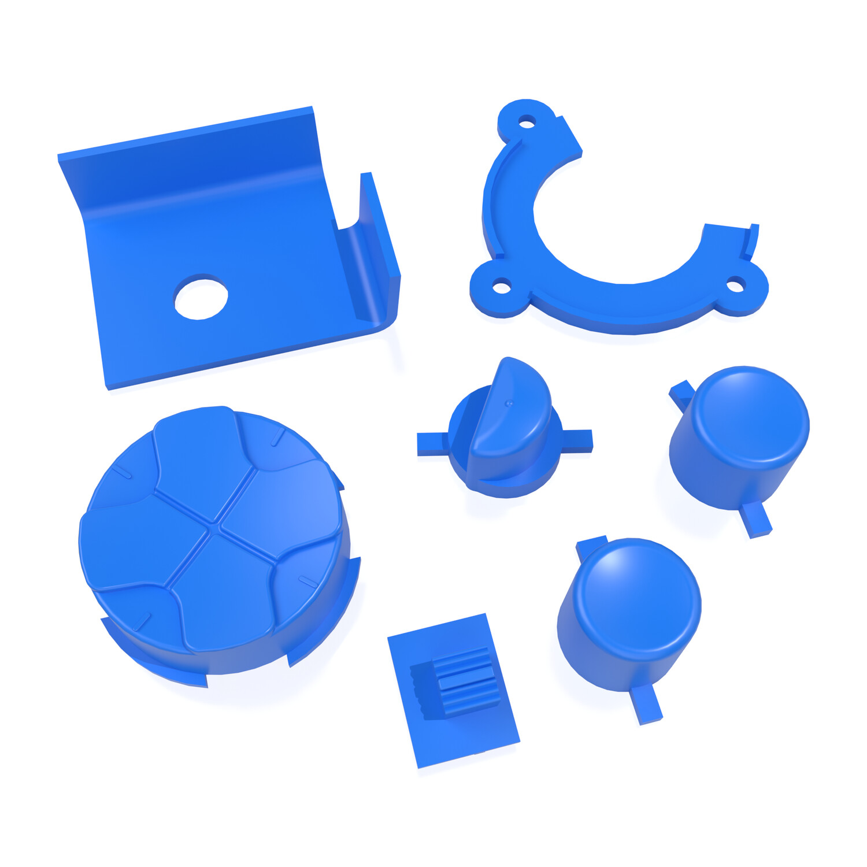 Game Gear Buttons (Dark Blue)