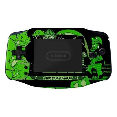 Game Boy Advance UV Print Shell Kit (Luigi Horror)