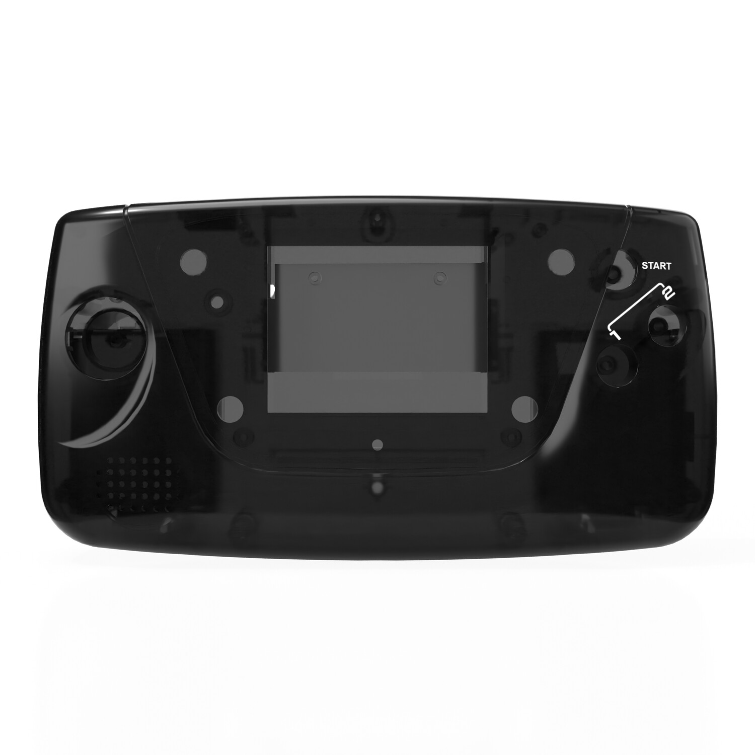 Game Gear Shell Kit (Clear Black)