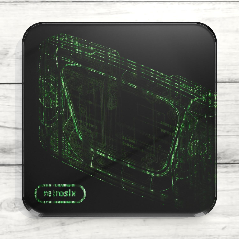 Drinks Coaster (Game Gear Matrix)