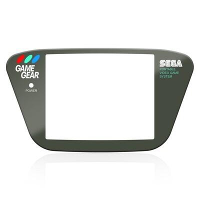 Game Gear Glass Lens (Dark Grey)