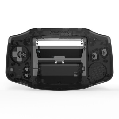 Game Boy Advance Shell Kit (Clear Black)