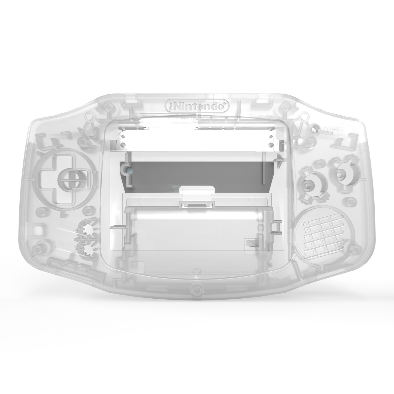 Game Boy Advance Shell Kit (Clear)