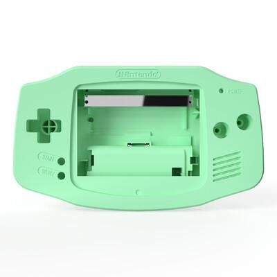 Game Boy Advance Shell Kit (Pastel Green)