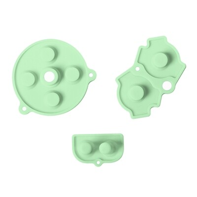 Game Boy Advance Rubber Pads (Pastel Green)