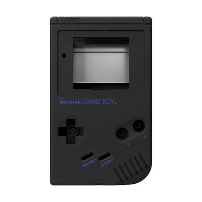Game Boy Original Shell Kit (Matt Black)