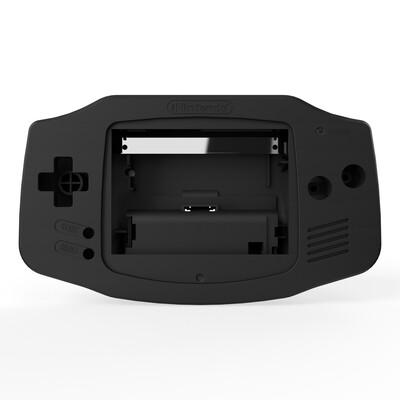 Game Boy Advance Shell (Matt Black)