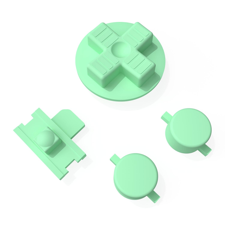 Game Boy Original Buttons (Pastel Green)