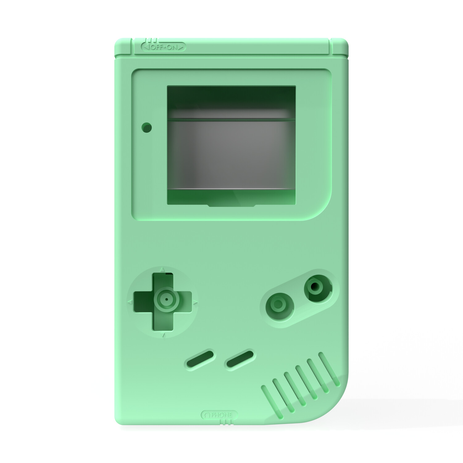 Game Boy Original Shell Kit (Pastel Green)