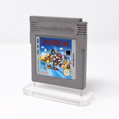 Game Boy Game Cartridge Uku Display Stand