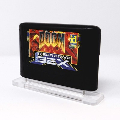 Mega Drive / 32X Cartridge Uku Display Stand
