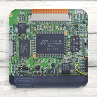 Coaster Acrylic (GBC Circuit Board)