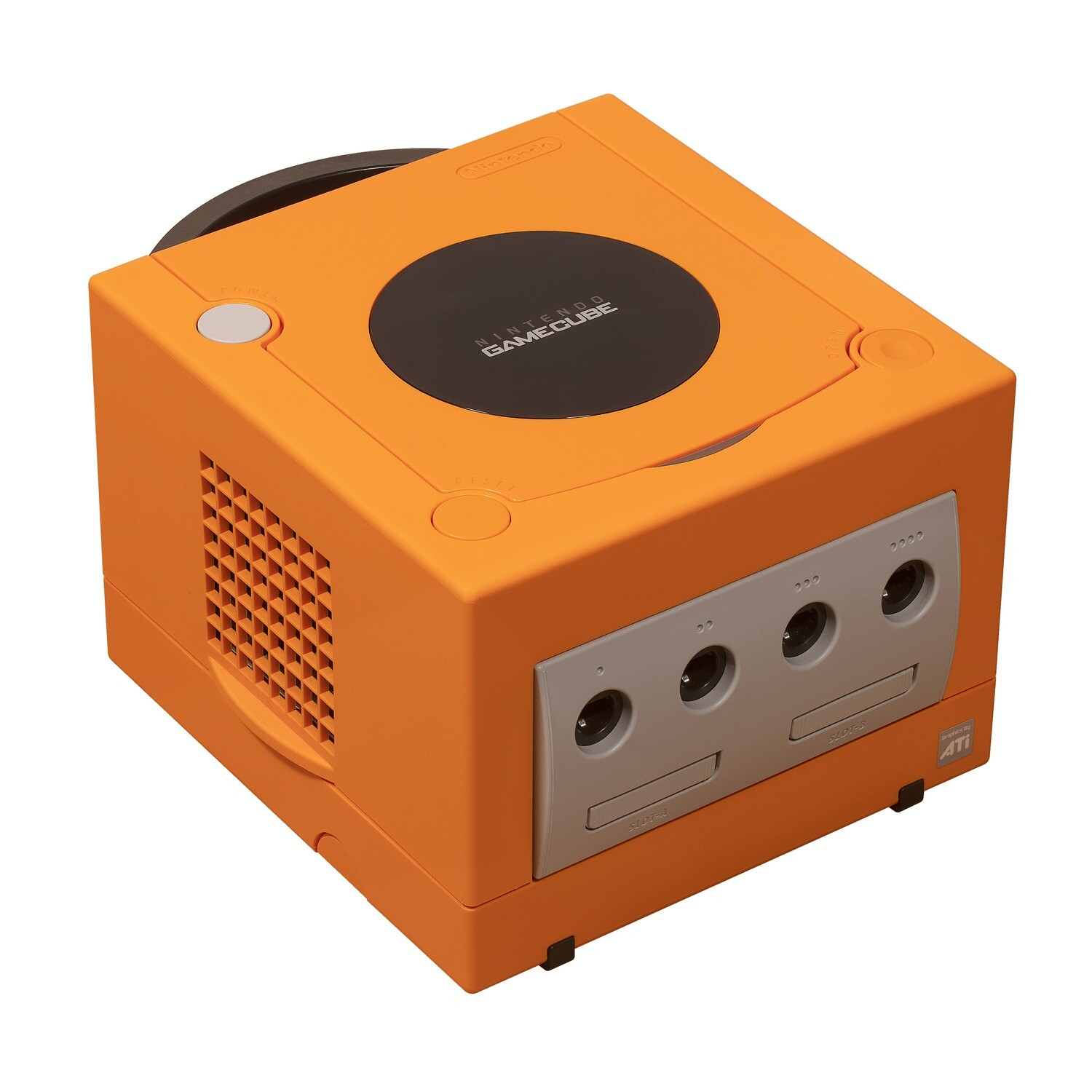 GameCube Orange Spice Console (Region Free)