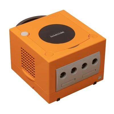 GameCube Orange Spice Console (Region Free)