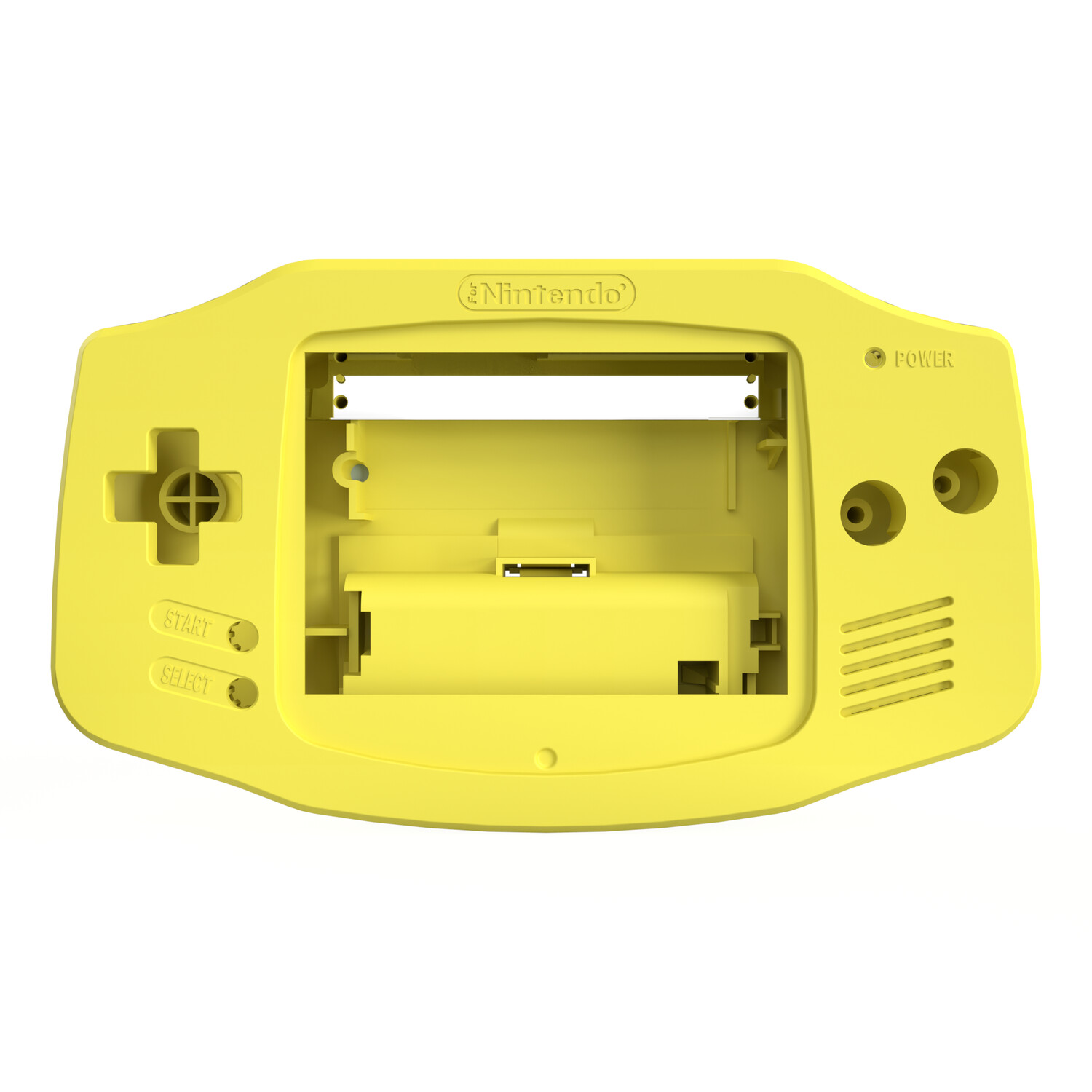 Game Boy Advance Shell (Pearl Yellow)