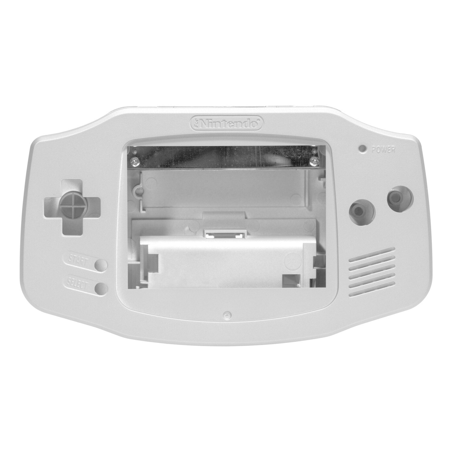 Game Boy Advance Shell (Pearl White)