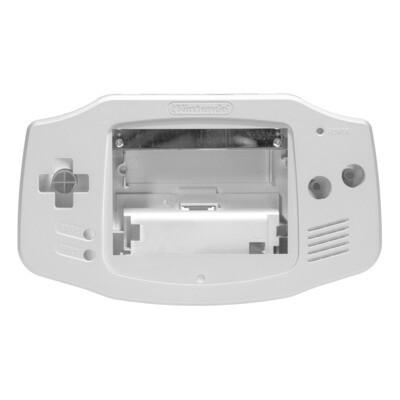 Game Boy Advance Shell Kit (Pearl White)