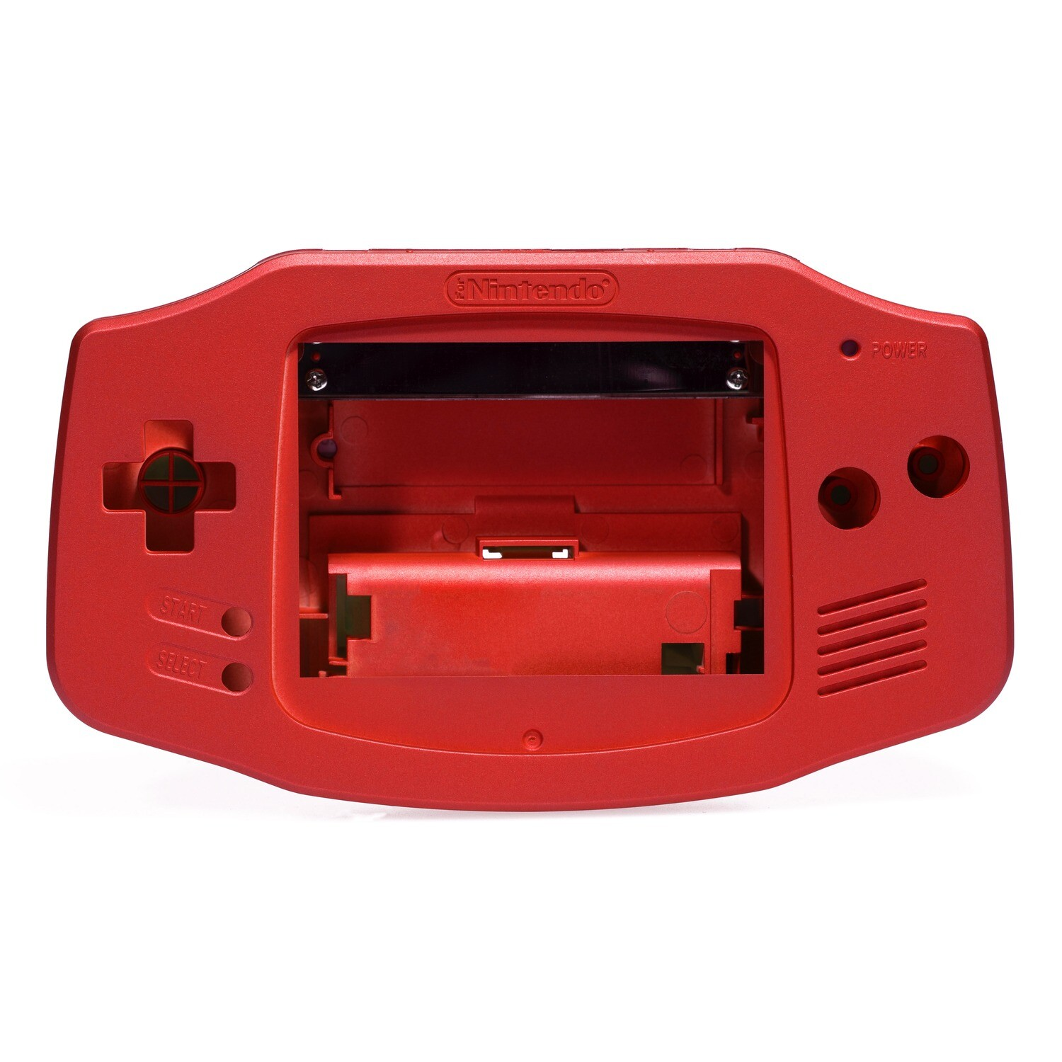 Game Boy Advance Shell (Pearl Red)