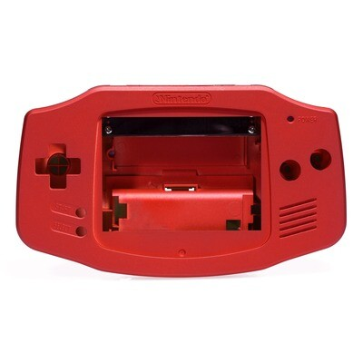 Game Boy Advance Shell Kit (Pearl Red)